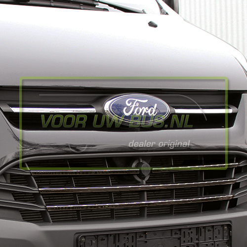 ford transit custom 2012 accessoires strip naast logo. Black Bedroom Furniture Sets. Home Design Ideas