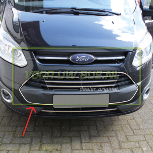 ford transit custom 2012 accessoires grill groot. Black Bedroom Furniture Sets. Home Design Ideas